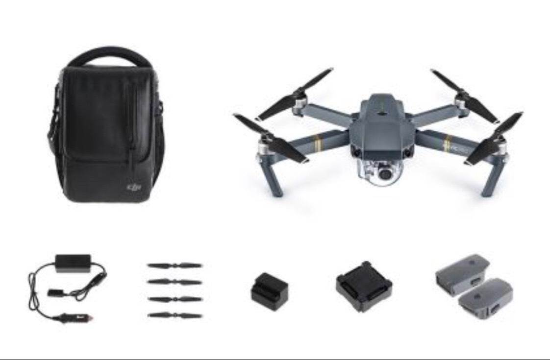 Drône Dji Mavic Pro Fly More Combo (592€ avec 402€ en SuperPoints via l'appli mobile)