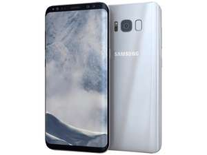 "Smartphone 5.8"" Samsung Galaxy S8 - Exynos 8895, 4 Go de RAM, 64 Go, argent polaire (Frontaliers suisses)"