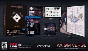 Axiom Verge Multiverse sur PS Vita (+4,40€ en superpoint)