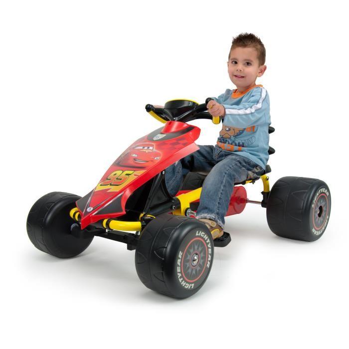 Kart à pédales pour enfant Cars Go