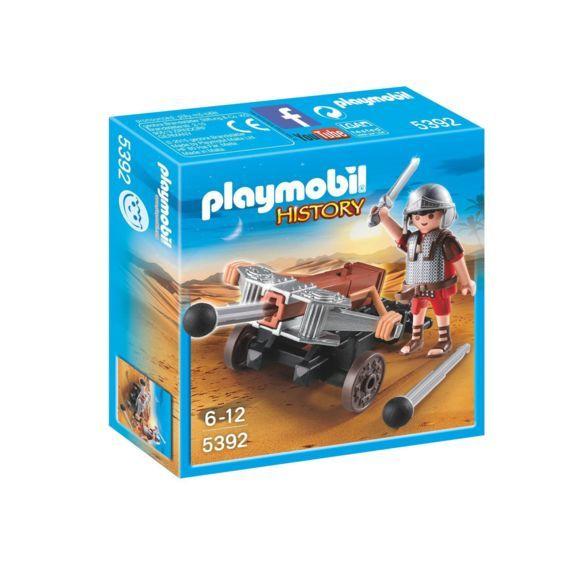 Jouet Playmobil History Légionnaire romain avec baliste 5392