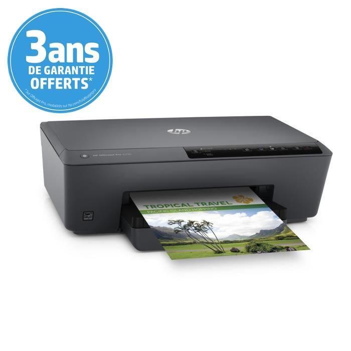 Imprimante HP OfficeJet Pro 6230 - Jet d'encre, Couleur, WiFi