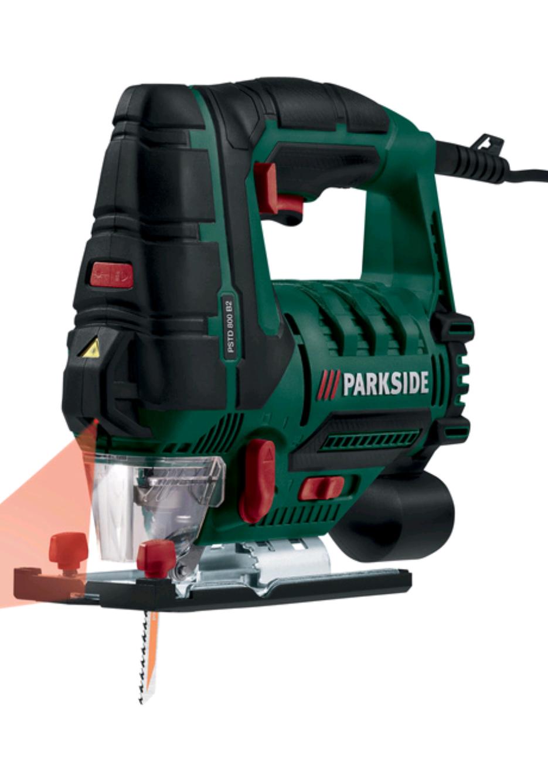 Scie sauteuse PARKSIDE PSTD 800 B2
