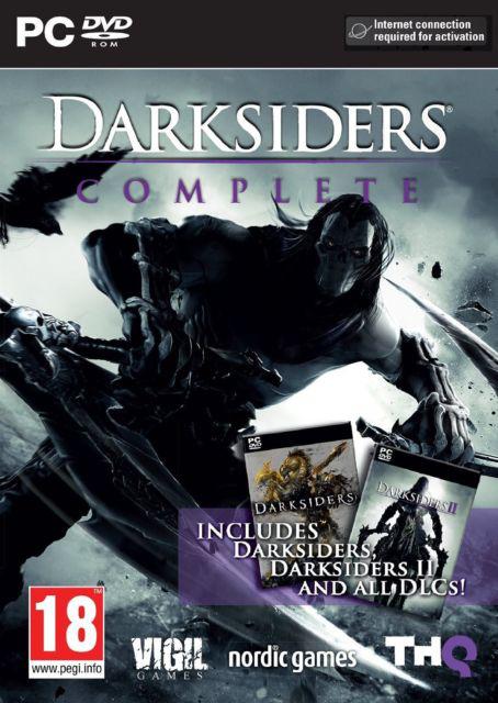 Darksiders Complete : Darksiders I et II + tous les DLC sur Xbox 360 / PS3 à 7.99€, sur PC