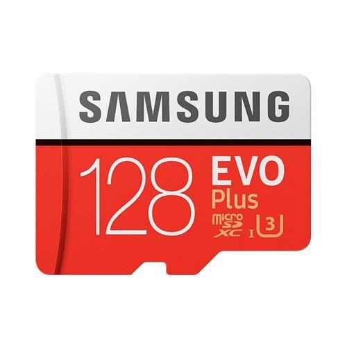 Carte Micro SDXC Samsung Evo Plus U3 - 128 Go à 33.55€ et 256 Go à 86.63€