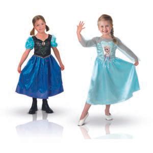 Pack Déguisements Classiques Rubies - Elsa et Anna (Taille 7/8 ans)
