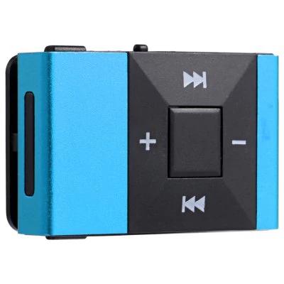 Mini Lecteur MP3 Clip - Bleu