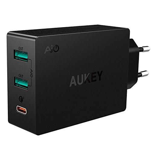 Chargeur USB 3 Aukey USB C - (vendeur tiers)