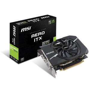 [Étudiants] Carte graphique MSI GeForce GTX 1070 AERO ITX 8G OC - 8Go - GDDR5