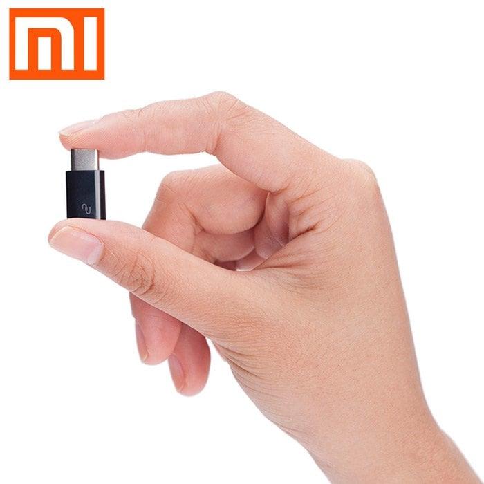 Adaptateur USB type-C / micro-USB Xiaomi - noir
