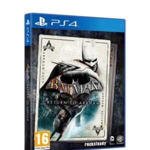 Batman return to arkham sur PS4