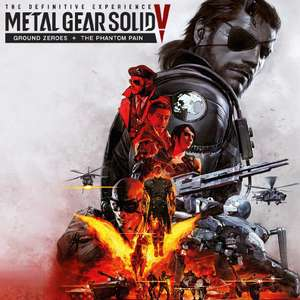 Metal Gear Solid V: The Definitive Experience: Ground Zeroes + Phantom Pain + Tous les DLC sur PC (Dématérialisé - Steam)