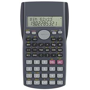 Calculatrice scientifique Helect H1002 - 2 lignes (vendeur tiers)