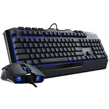 Pack clavier-souris Cooler Master Devastator II, LED Bleues (AZERTY)