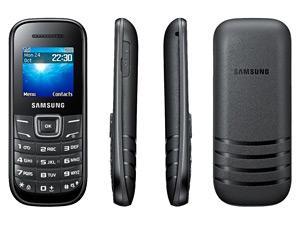 Téléphone Samsung E1200 - Noir