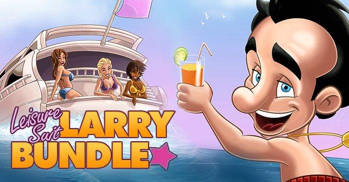 Leisure Suit Larry Bundle - Bundle de 12 jeux sur PC (Dématérialisés - Steam)
