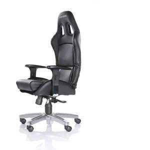 Siège de bureau PlaySeat Office - en simili-cuir, noir