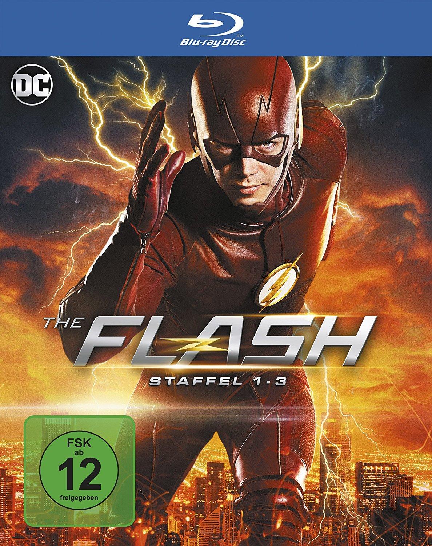 Jusqu'à 10€ de réduction sur une sélection de Blu-ray & DVD - Ex : Flash - L'Intégrale des Saisons 1 à 3