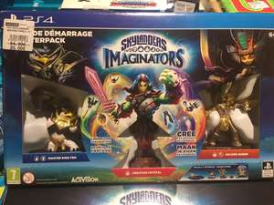 Pack de démarrage Skylanders : Imaginators (Master King Pen + Creation Crystal + Golden Queen) sur PS4 au E.Leclerc Le Plessis-Belleville (60)