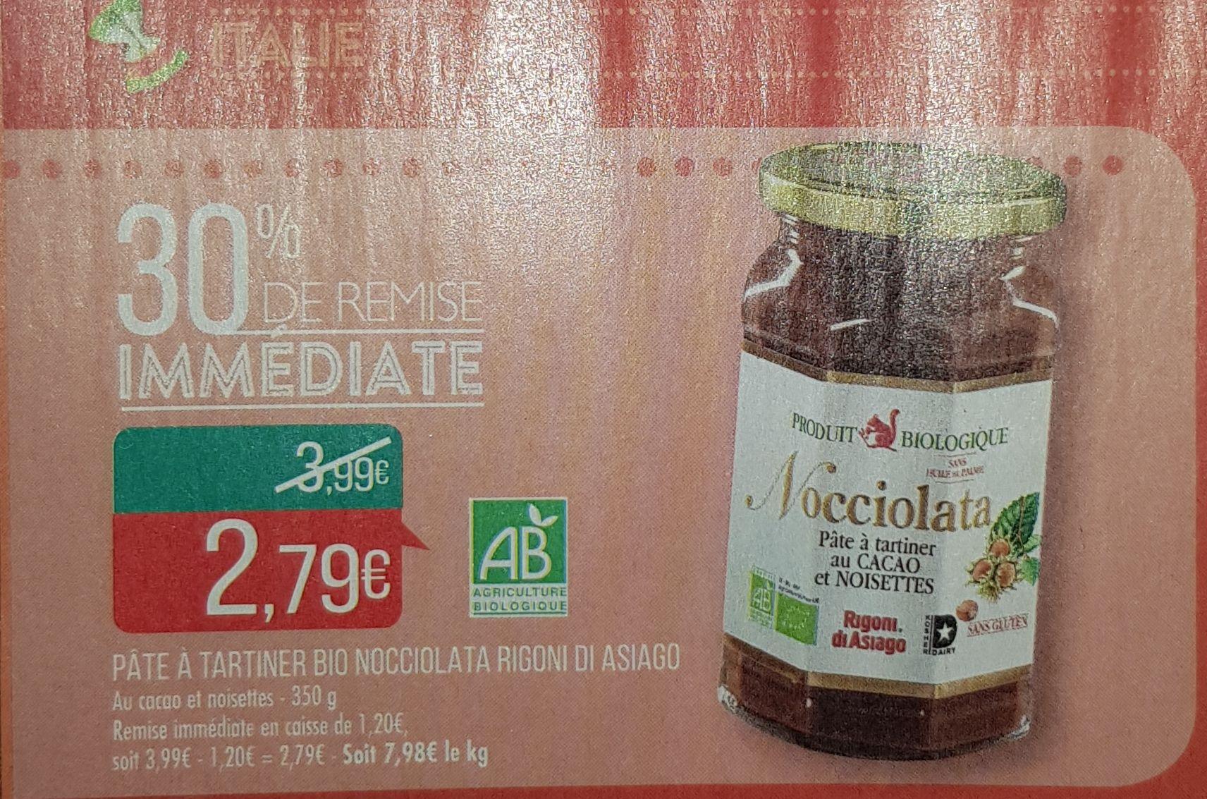 Pot de pâte à tartiner Nocciolata - 350g