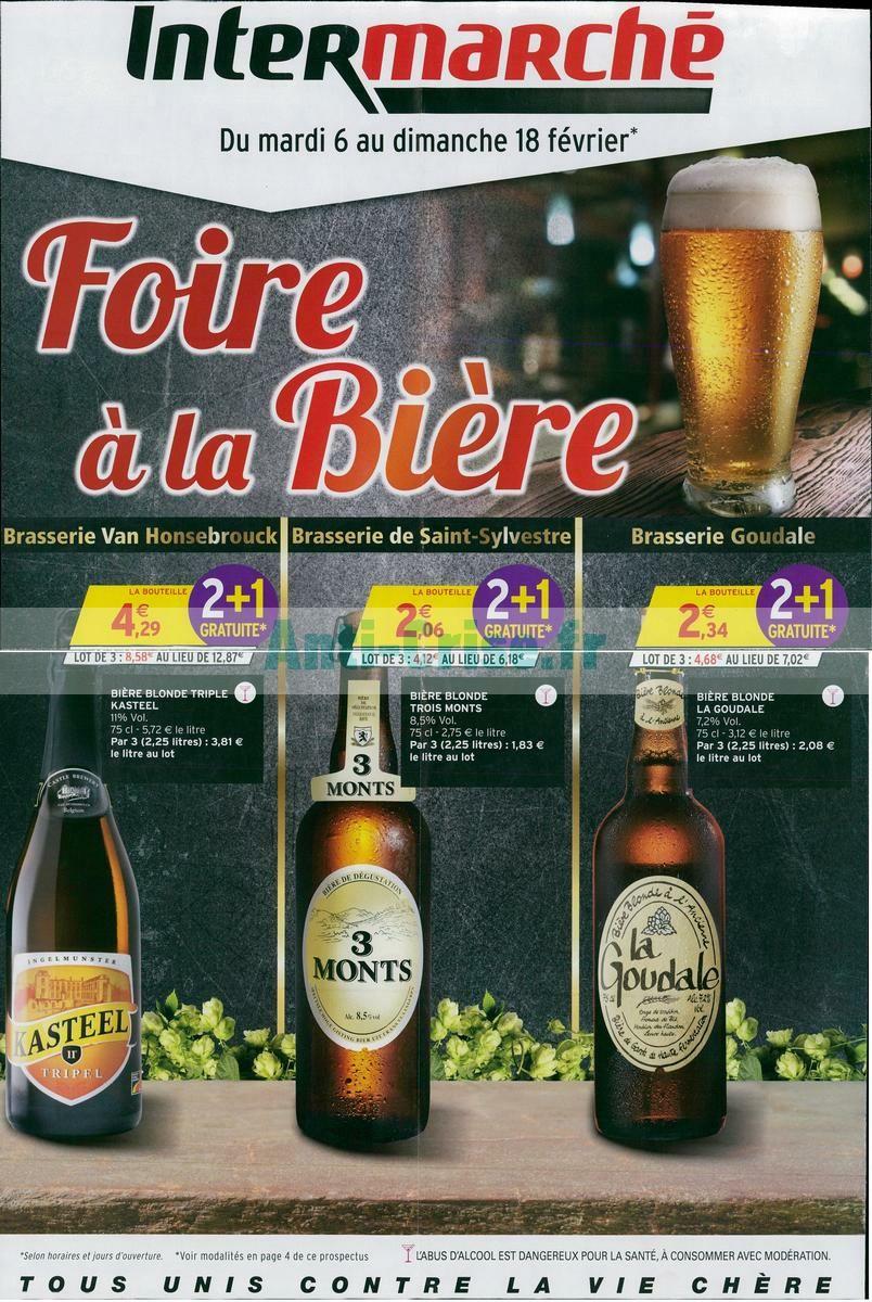 Sélection de bières en 2 achetés = 1 supplémentaire offerte - Ex : 3 Bières Kasteel triple - 75cl