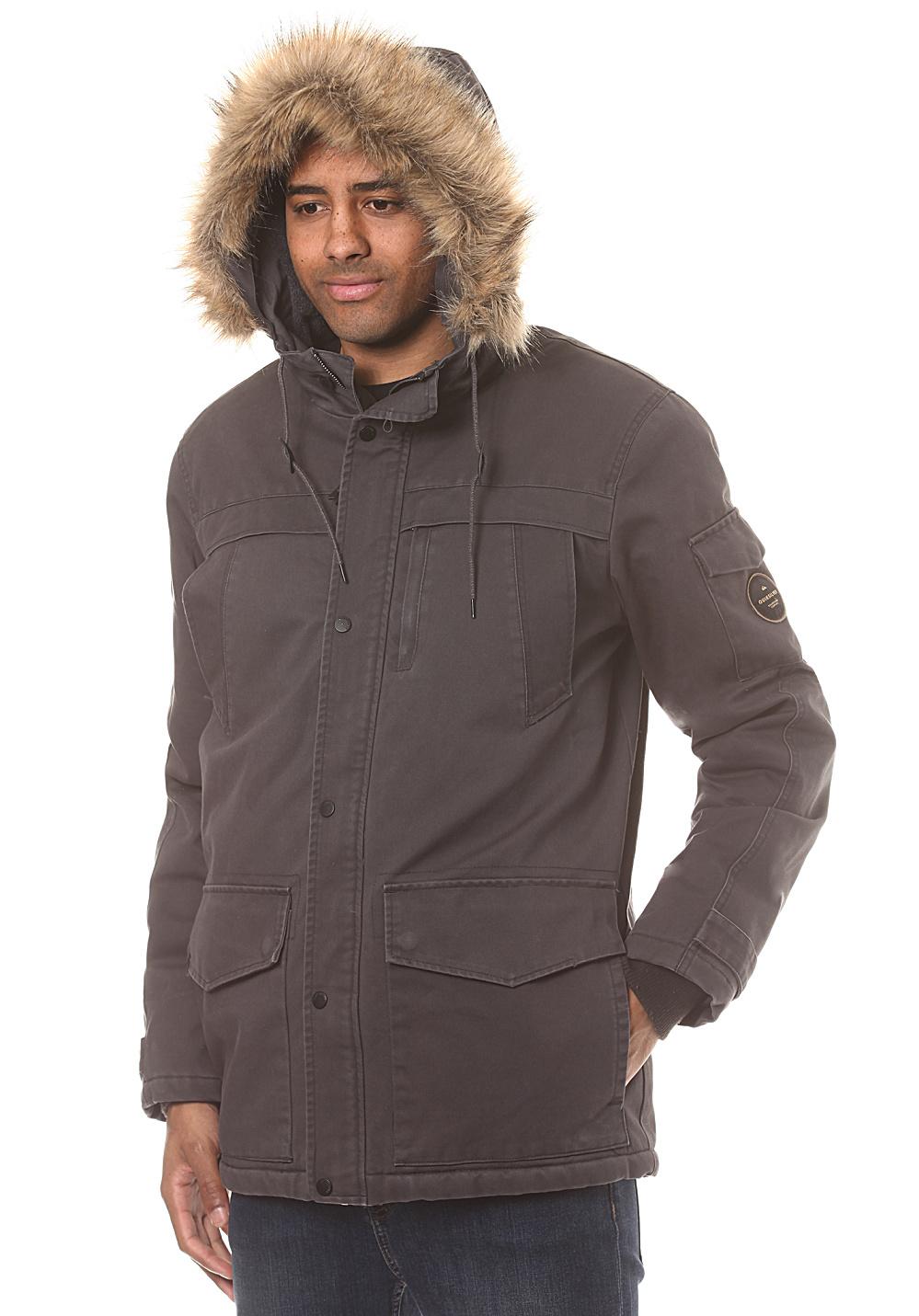 Parka d'hiver imperméable Quiksilver Storm Drop 5K - Noir, Taille S à XL