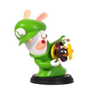 Figurine Mario + The Lapins Crétins Kingdom Battle : Lapin Luigi - 16 cm