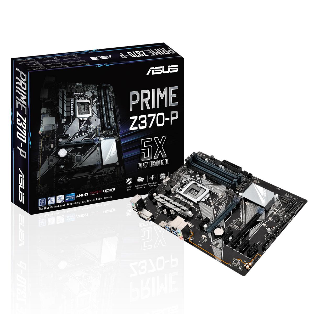 Carte mère Asus Prime Z370-P - Reconditionné