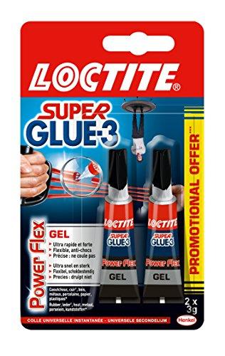 [Panier Plus] Lot de 2 Super-Glue 3 Loctite Power Flex