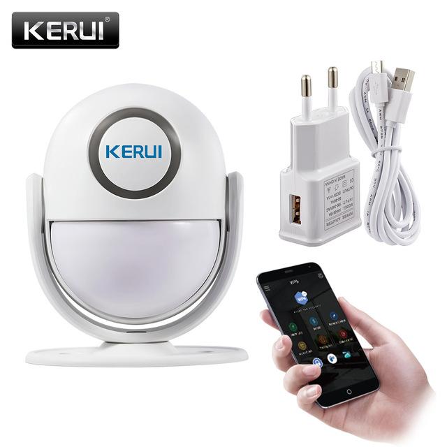 Système d'Alarme Wifi Kerui WP6 avec application Android et iOS 120db