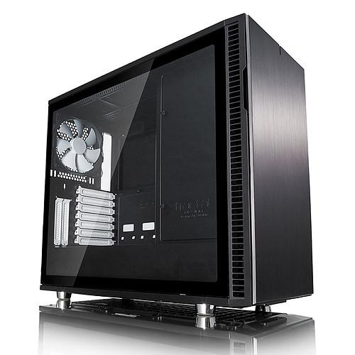 Boitier PC Fractal Design Define R6 - Noir avec fenêtre