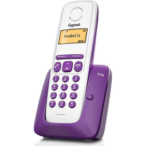 Téléphone sans fil Gigaset Siemens Giga A 130 prune