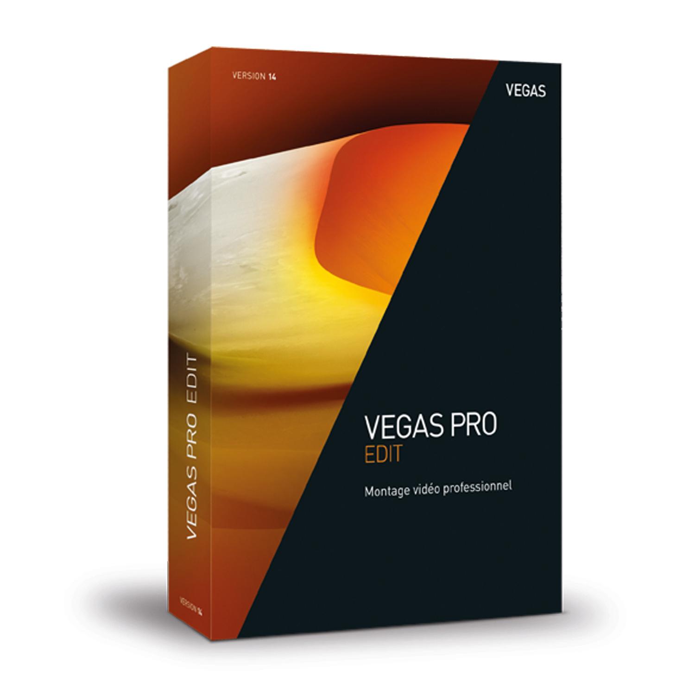Logiciel de montage vidéo MAGIX Vegas Pro 14 Edit (Français, Windows)