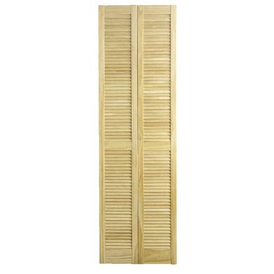 20% de réduction sur une sélection d'articles Glisseo - Ex : porte de placard pliante Ranch à vernir (62x205 cm)