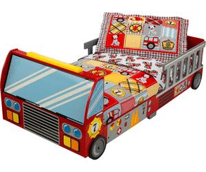 Lit pour enfant KidKraft Camion de Pompiers NC (70x140 cm) à 119.94€ ou Avion à 131.94€