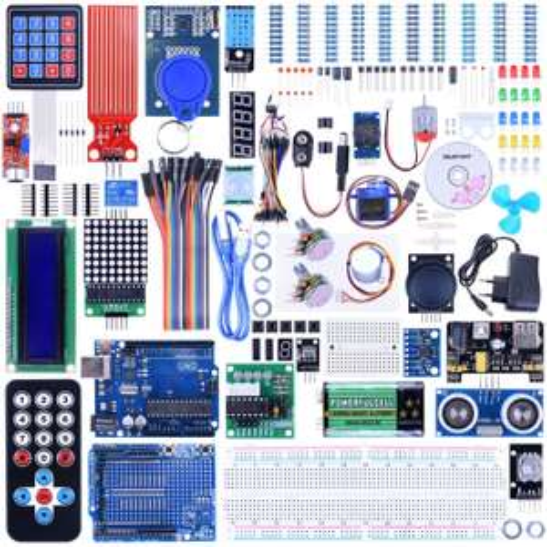 Kit de démarrage Arduino Uno R3  Nano + 68 composants (vendeur tiers)