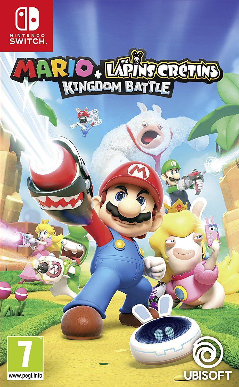 Jeu Mario + Lapins crétins sur Nintendo Switch + 1,85€ remboursés en Super Points (SuperPromos)