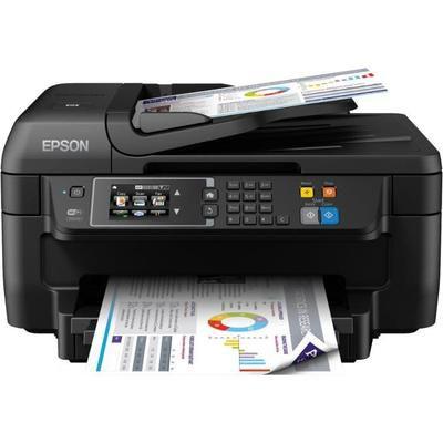 Imprimante Multifonction 4-en-1 Epson WorkForce WF-2760DWF à Jet d'Encre - USB 2.0, LAN / WiFi / NFC