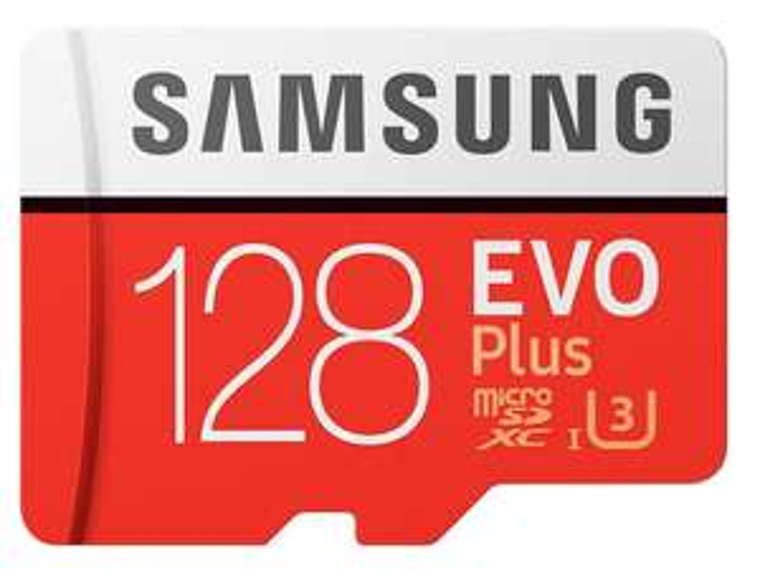 Carte MicroSDXC Samsung Evo Plus U3 - 128 Go + Adaptateur SD (picstop.co.uk)