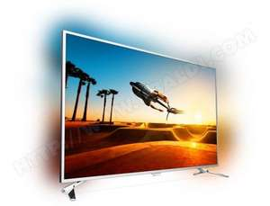 "TV IPS LED 55"" Philips 55PUS7272 avec Ambilight 3 Côtés - UHD 4K, 100Hz, HDR, 10bits, Smart TV"
