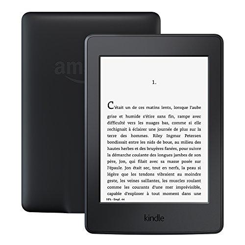 """Liseuse 6"""" Kindle Paperwhite - Eclairage intégré et Wi-Fi, Noir (Avec offres spéciales)"""
