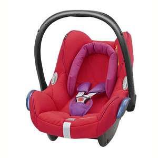 Cosi CabrioFix de Bébé Confort coloris Red Orchid - 0-13kg