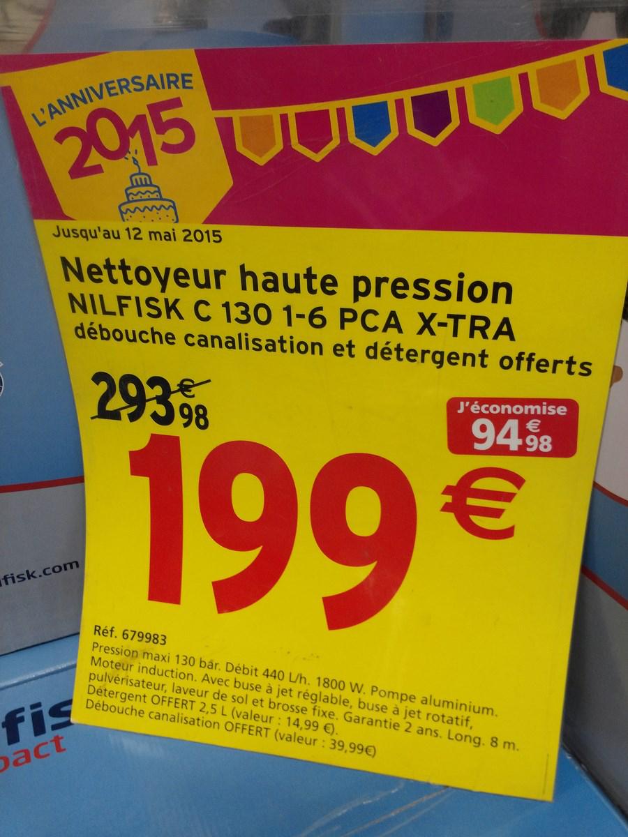 Nettoyeur haute pression Nilfisk C130.1-6 PCA X-tra