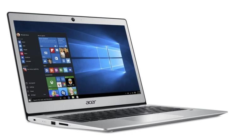 "PC portable 13.3"" full HD Acer Swift 1 SF113-31-P697 - N4200, 4 Go de RAM, 64 Go en eMMC"