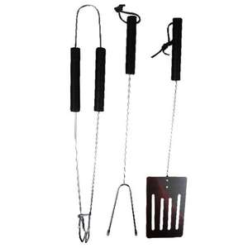 Set d'outils barbecue (3 pièces)