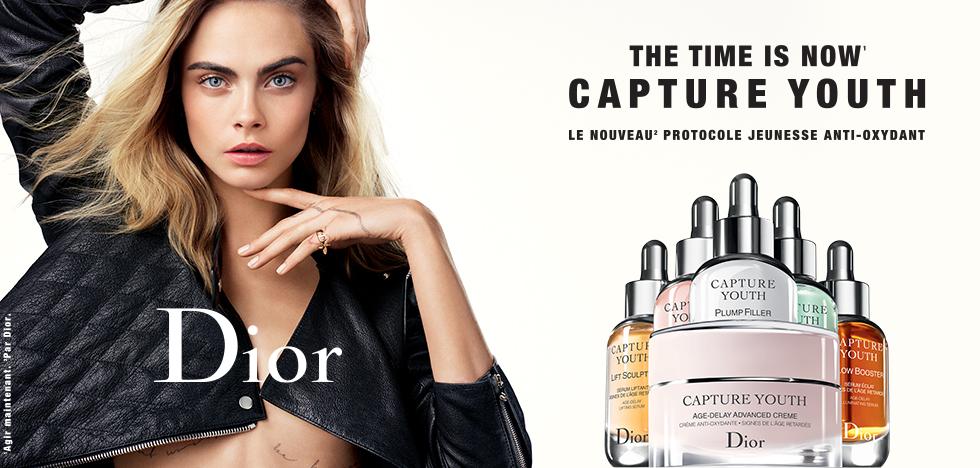 Échantillons de crèmes Dior Capture Youth Offerts