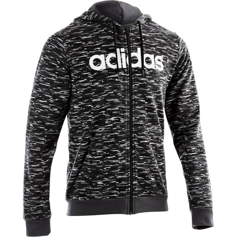 Veste à capuche homme Adidas - Gris