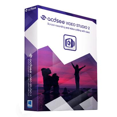 Logiciel ACDSee Video Studio 2 gratuit sur PC (dématérialisé)