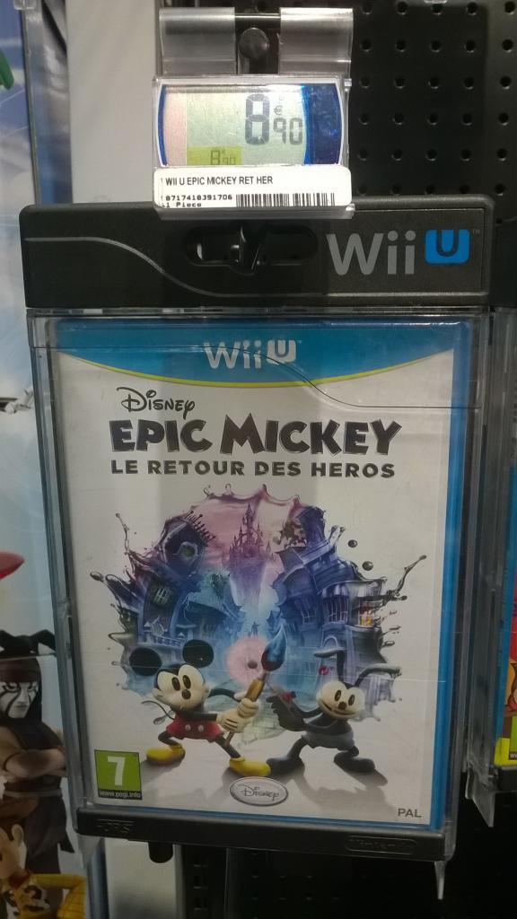 Epic Mickey 2: Le Retour des Héros sur Wii U