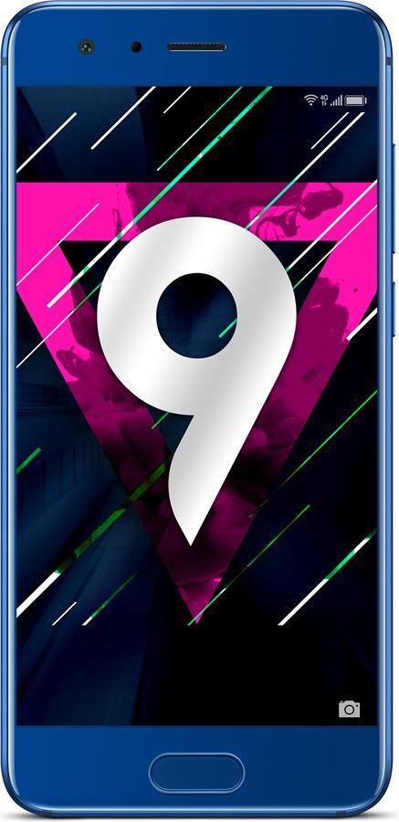 """Smartphone 5.15"""" Honor 9 - 64 Go, Double SIM, Bleu (+ 84.60€ en SuperPoints)"""